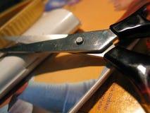 Forbici di Makro Fotografia Stock