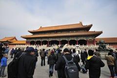 Forbidden City, Китай Стоковая Фотография RF