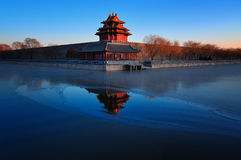 Forbidden City, Пекин, Китай Стоковая Фотография RF