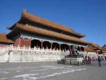 Forbidden City, Пекин, Китай Стоковые Изображения RF
