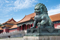 The Forbidden City. Beijing, China Royalty Free Stock Image