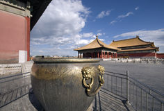 Forbidden City. Inside the National Palace Museum Stock Photos