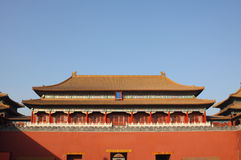 Forbidden city royalty free stock photos