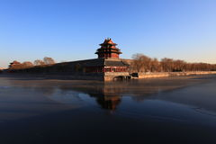 The Forbidden City. Is the landscape of Beijing Royalty Free Stock Images