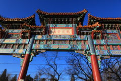 The Forbidden City. Is the landscape of Beijing Royalty Free Stock Photos