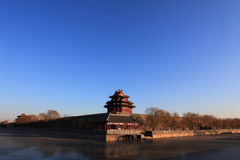 The Forbidden City. Is the landscape of Beijing Stock Photos