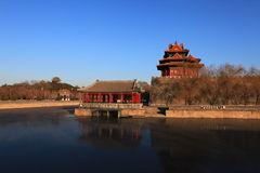 The Forbidden City. Is the landscape of Beijing Royalty Free Stock Photo