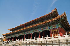 The Forbidden City stock photography