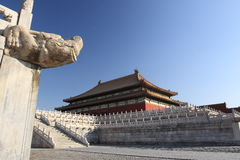 Forbidden city Stock Photography