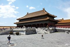 The forbidden city Royalty Free Stock Photo