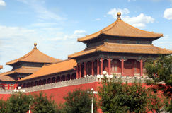 Forbidden City. A part of Forbidden City. Shot in Beijing, China Stock Photo