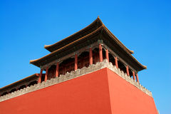 Forbidden City. A part of Forbidden City. Shot in Beijing, China Stock Images