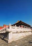 Forbidden city. Part of forbidden city in beijing Stock Photography