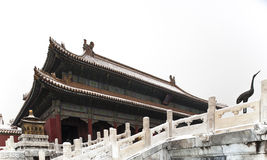 Forbidden city. Hall of Supreme Harmony of forbidden city in beijing Royalty Free Stock Photography