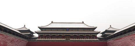 Forbidden city. Fornt gate of forbidden city in beijing Stock Photography