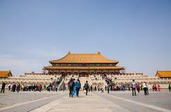 Forbidden City Royaltyfri Fotografi