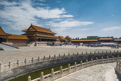 Forbidden City Royaltyfri Bild