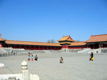Forbidden city. In beijing, china Stock Images