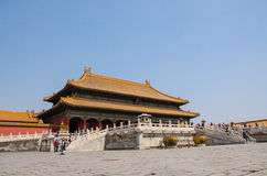 Forbidden City Royaltyfria Foton