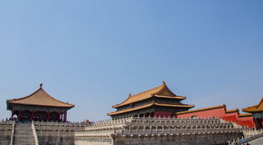 Forbidden City Arkivfoton