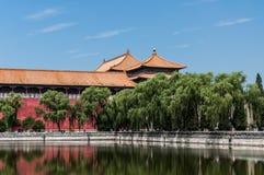 Forbidden City Royaltyfri Bild