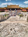 Forbidden city. In Beijing, China Stock Photo