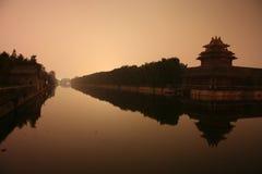 Forbidden City. Night shot of the Forbidden City, Beijing Stock Photography