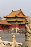Forbidden City. The Forbidden City in China Stock Photography