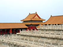 Forbidden City Architecture Royalty Free Stock Image