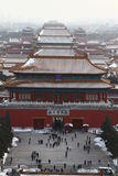 Forbidden city in beijing. Of china Royalty Free Stock Images