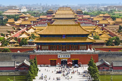 The Forbidden City,Beijing Stock Photos