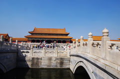 Forbidden City in Beijing Royalty Free Stock Image