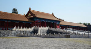 Forbidden City in Beijing. China Royalty Free Stock Photography