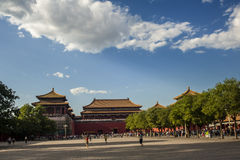 Forbidden city, Beijing Stock Image
