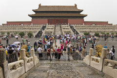 At the Forbidden City Beijing Royalty Free Stock Images