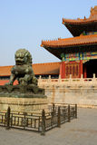 The forbidden city,beijing Royalty Free Stock Images
