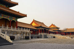 The forbidden city,beijing Royalty Free Stock Photo