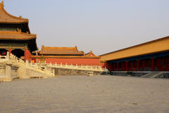 The forbidden city,beijing Stock Photo