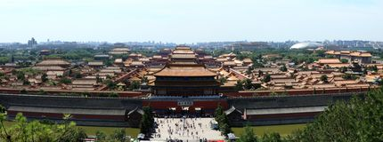 The Forbidden City of Beijing Royalty Free Stock Photography