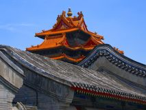 Forbidden City in Beijing royalty free stock photos