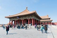 Forbidden City in Beijing Stock Image
