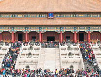 Forbidden City in Beijing Royalty Free Stock Photo
