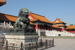 The Forbidden City. Beijing, China royalty free stock images