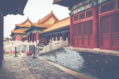 The Forbidden City, Beijing, China. The Forbidden City, Beijing, China Stock Photography