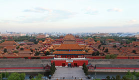 The Forbidden City in Beijing, China royalty free stock photos
