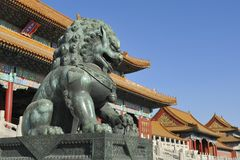 The Forbidden City - Beijing, China Royalty Free Stock Photo