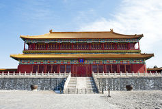 Forbidden city in Beijing, China Stock Image