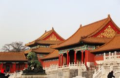 Forbidden City. Beijing. China Royalty Free Stock Photos