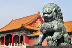 Forbidden City, Beijing China Royalty Free Stock Images