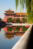 Forbidden City, Beijing, China. Forbidden City outside walls, Beijing, China. UNESCO world heritage site Stock Images